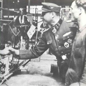 Degrelle von der SS Brigade Wallonien