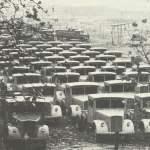 Opel Blitz mit Einheits-Fahrerhaus.