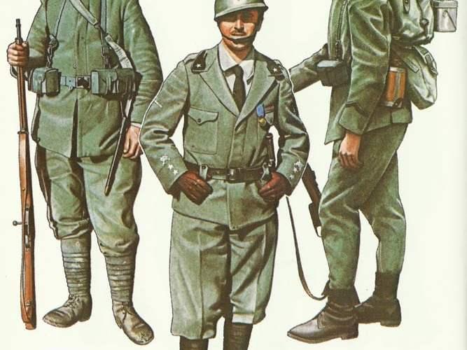 Italienische Armee 1915-18