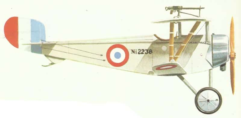 Nieuport XI der französischen Luftwaffe.