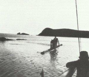 französische U-Boot 'Turquoise'