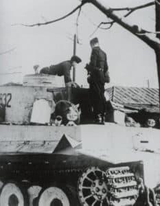 ersten Tiger-Panzer