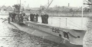 britische U-Boot 'E20'