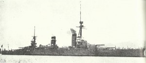 japanische Dreadnought 'Fuso'