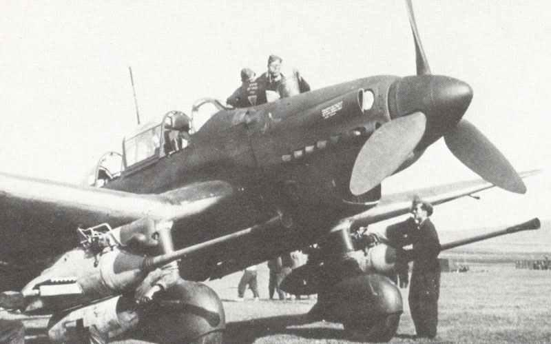 Ju87G-1 Panzerbekämpfungsflugzeug