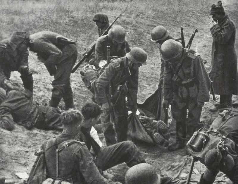 Tote und Verwundete Kursk