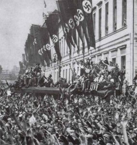 Hitlers Empfang in Berlin