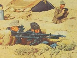 schweres Maschinengewehr