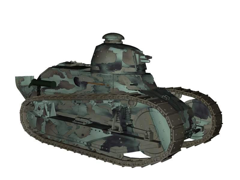 ft 17 erfolgreichster panzer im ersten weltkrieg. Black Bedroom Furniture Sets. Home Design Ideas