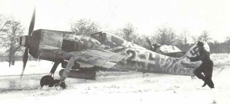 Fw 190 F-8 im Winter 1944/45