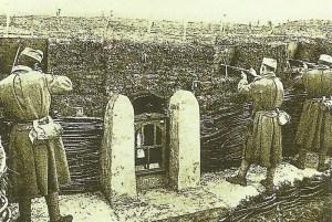 Hl Jungfrau im Schützengraben