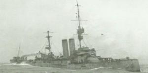 HMS King Edward VII sinkt