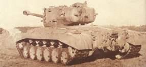 Rückseite des schweren Kampfpanzer M26 Pershing