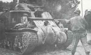 US M3 Lee in Tunesien