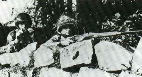 US-Scharfschütze mit M1903