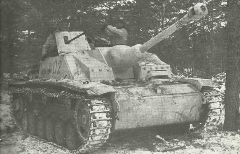 spätes Modell des StuG 40 Ausf. G