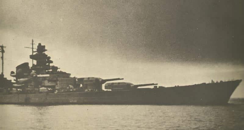 Tirpitz in Norwegen
