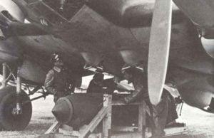 schwere Bombe He 111