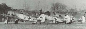 Fw 190 A-2 und A-3 von JG 26 im Frühjahr 1942