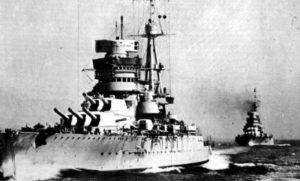 Schlachtschiff 'Giulio Cesare'