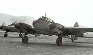 Me 210 III/ZG1 Tunesien