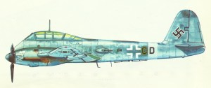 Messrschmitt Me 210A-1