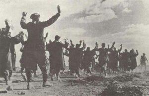 Gefangennahme von italienischen Soldaten