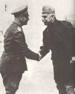 General Rommel mit Gariboldi