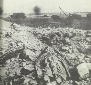 Angriff von Schneider-Panzern.