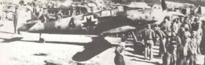 Bf 109 G-10 der kroatischen Staffel