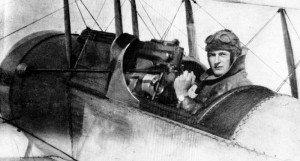 Bristol Scout mit MG-Unterbrechergetriebe