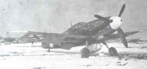 Bulgarische Bf 109 G-2.