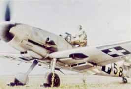 ungarische Messerschmitt Bf 109 G-6.