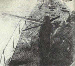 angreifendes deutsches U-Boot