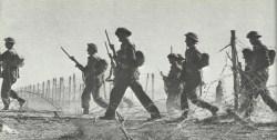 Ausbruch britischer Infanterie Tobruk