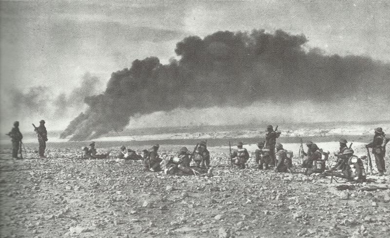 Britische Truppen erreichen Tobruk