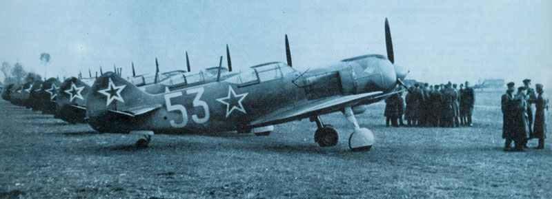 La-5FN Jagdflugzeuge