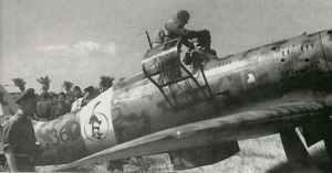 C.205V der 51. Stormo kurz nach ihrer Ankunft auf Sardinien