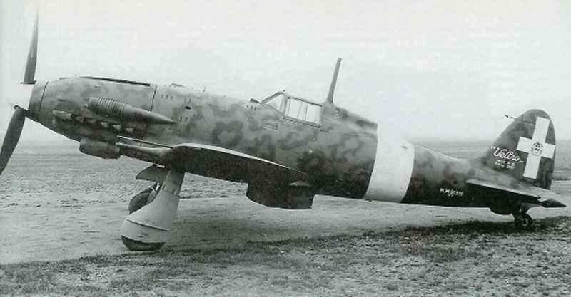 fabrikneue Macchi C.205V Veltro