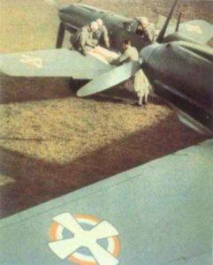 Messerschmitt 109 der jugoslawischen Luftwaffe.
