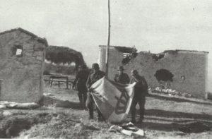 Metaxs-Linie griechische Kriegsflagge