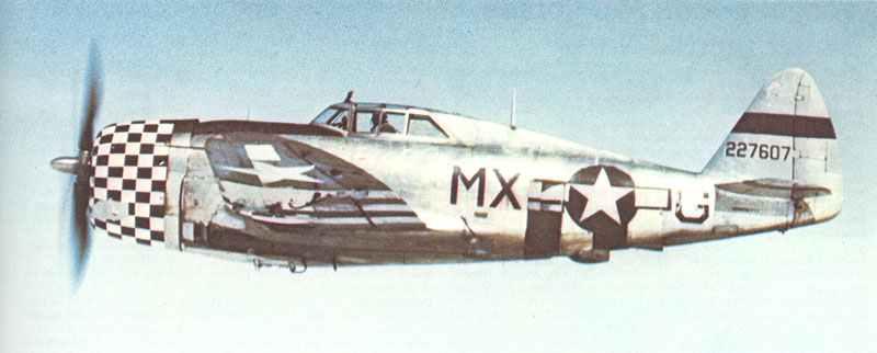 frühe P-47D Thunderbolt