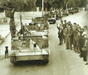 Britische Truppen in Chania