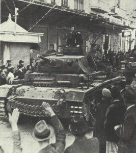 Einmarsch in Saloniki