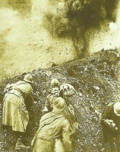 Französische Soldaten bei Verdun
