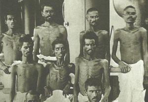 Inder der ausgehungerten britischen Garnison von Kut-el-Amara
