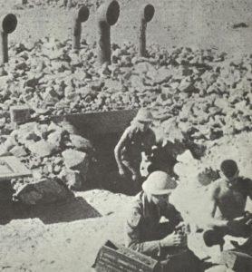 britischen 'Ratten von Tobruk'
