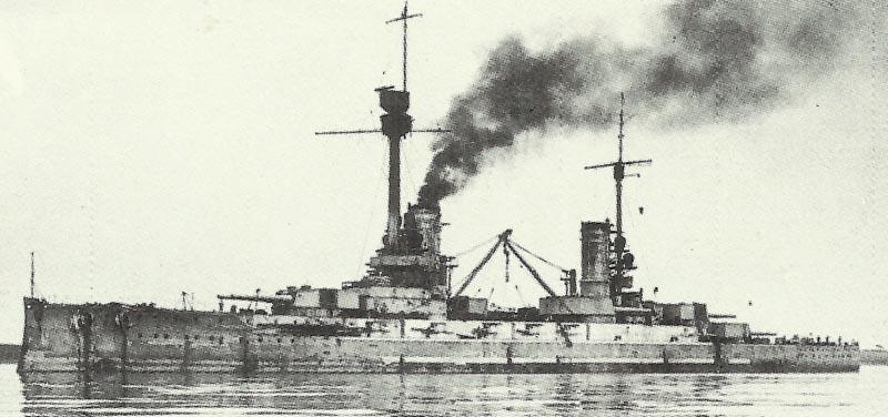 Flaggschiff der Hochseeflotte 'Friedrich der Grosse'