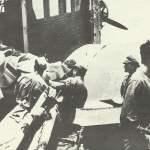 Evakuierung Verwundete Nordafrika