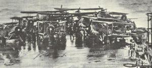 Swordfish an Bord des Flugzeugträgers Victorious